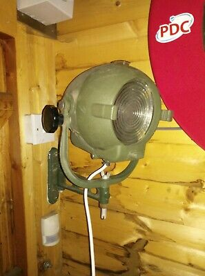 Vintage Rank Strand Stage Lights Wall Mounted Rewires