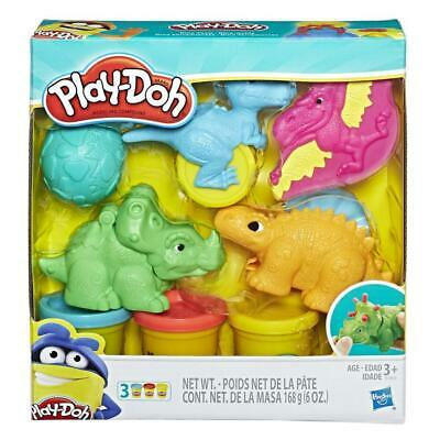 Play-Doh Dino Tools Dinosaur Kids Crafting Set inc 3 Play-Doh Tubs for Ages 3+