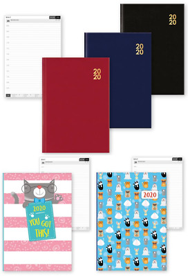 2020 DIARY - A6 - Day A Page - School Organiser Home Work Planner WTV Designs