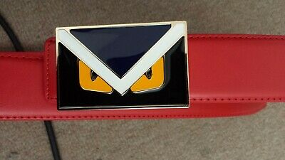 Fendi leather belt  size 30 - 38