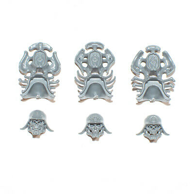 Ossiarch Bonereapers Kavalos Deathriders Heads x 5 G2649