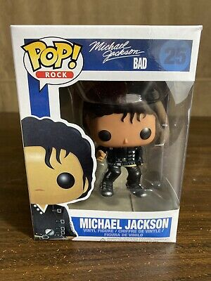 Michael Jackson Bad Rock Pop funko 25