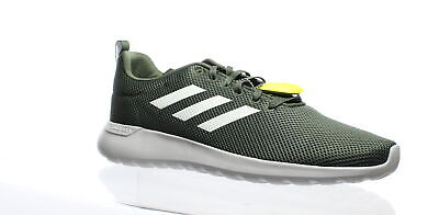 Adidas Mens Lite Racer Cln Green Running Shoes Size 14 (437868)