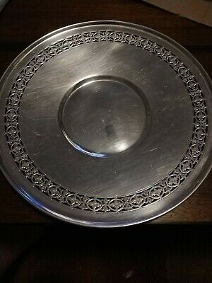Colonial Silver Co Antique EPNS Plate. Very cool Design. Collectable.