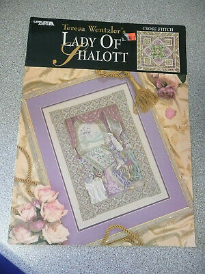 Leisure Arts Counted Cross Stitch Chart  Lady of Shalott- Teresa Wentzler