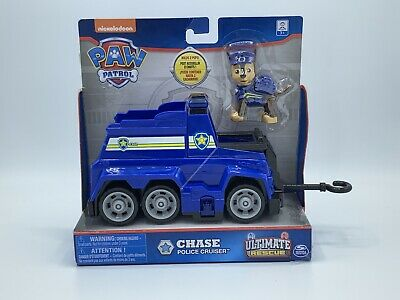 Nickelodeon PAW PATROL Ultimate Rescue CHASE POLICE CAR CRUISER Kids TOY VEHICLE