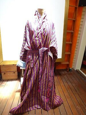 Rare Textile Collection - X Large Mens Robe - unknown origin maybe Uzbekistan