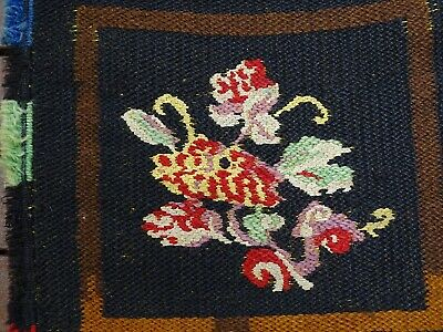 Rare Textile Collection - Embroidered Wool  Poncho Horse Camel Saddle Bag