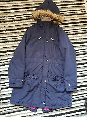 Girls Ted Baker Coat Aged 13yrs Blue
