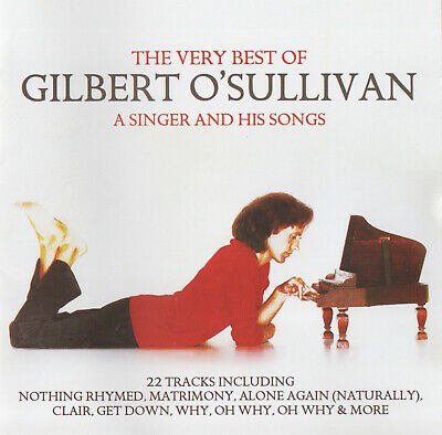 The Very Best Of Gilbert O'sullivan - A Singer And His Songs - Cd