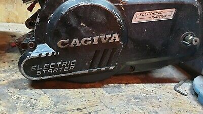 2X Cagiva Engines+(Exhaust and Carb)