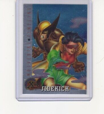 1995 Fleer Ultra X-Men SIDEKICK Wolverine Timeline #85
