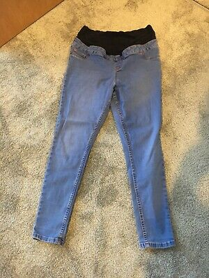 new look maternity jeans 14 Leg 30""