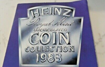 UK, Heinz Royal Mint Uncirculated Coin Collection, 1983.