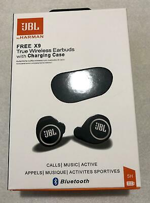 NEW HARMAN JBL FREE X9 Mini Truly Wireless Bluetooth In-Ear Black