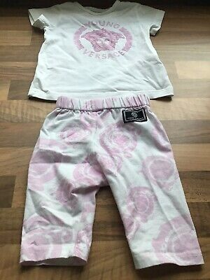 Baby Girls Young Versace Outfit In Age 1 Month