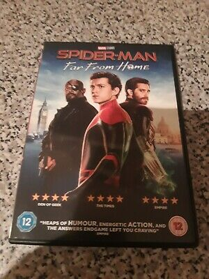 Spider-man: far from home Dvd