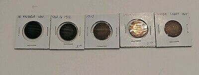 Lot Of Large Canada Cents 1876, 1912, 1913, 1914, 1915