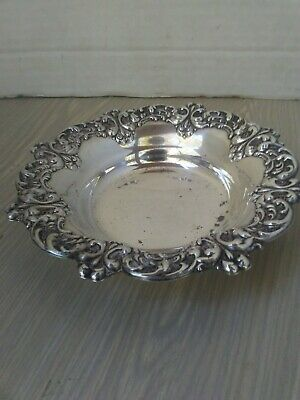 Amston 116 Sterling Bowl Dish Candy Office Vintage Silver