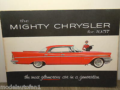 Folder/Brochure 1957 The Mighty Chrysler *4882