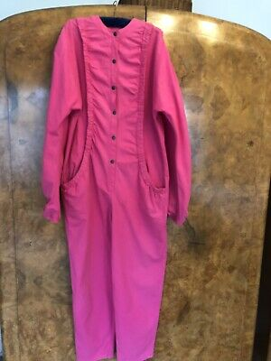 True Vintage Retro 1980s Boiler Suit/Jumpsuit Size 12/14