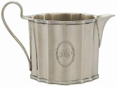 Antique Sterling Silver Cream Jug by Henry Chawner - George III (1791)