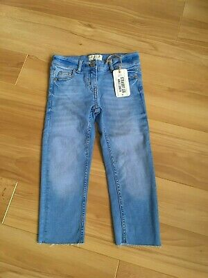 girls next blue ankle length jeans age 6 nwt
