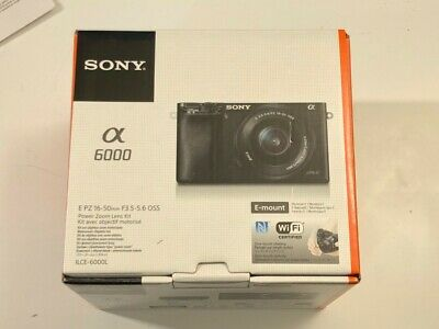 Sony Alpha a6000 Mirrorless Digital Camera Black w/ 16-50mm Power Zoom Lens