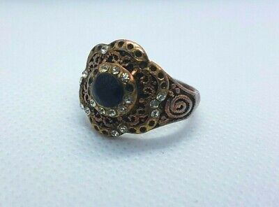 Rare Ancient Ring Roman Bronze Antique Vintage Artifact Authentic Very Stunning