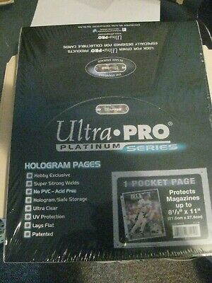Pages 50 Pages Ultra Pro 1 Pocket Magazines