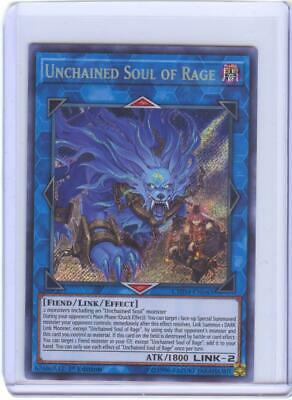 Unchained Soul Of Rage - Secret Rare - 1st Edition - #CHIM-EN043  Yu-Gi-Oh