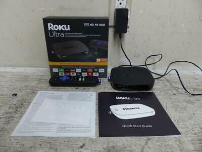 Roku 4661R Ultra Streaming Media Player 4K HD HDR ~ No Headphones Included