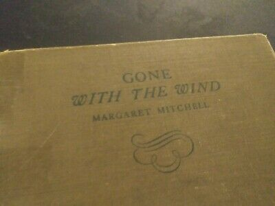Rare June 1936 Gone With The Wind Civil War Classic First Edition Margaret Mitch