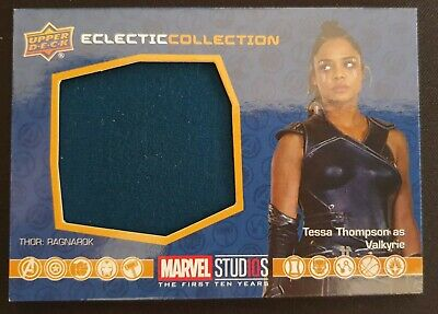 2019 Marvel Studios First Ten Years Tessa Thompson Memorabilia Patch #EC-12