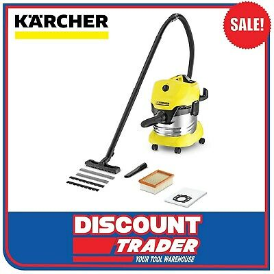 Karcher Wet & Dry Vacuum Cleaner 1600 Watt  MV 4 Premium WD 4 - 1.348-155.0