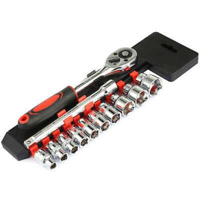 Sockets Ratchet Wrench Set 3/8 Medium Fly 12 In 1 Tubo Chiave Singola Dinam D7O3