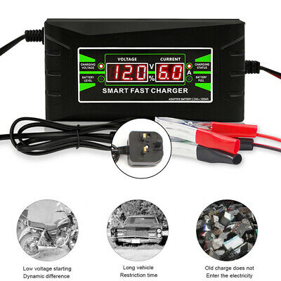 10 Amp Automatic Electronic Car Battery Charger 12V Fast/Trickle Pulse Repair
