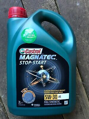 Castrol Magnatec Stop-Start 5W-30 A5 Fully Synthetic Engine Oil 2 Litres 2L