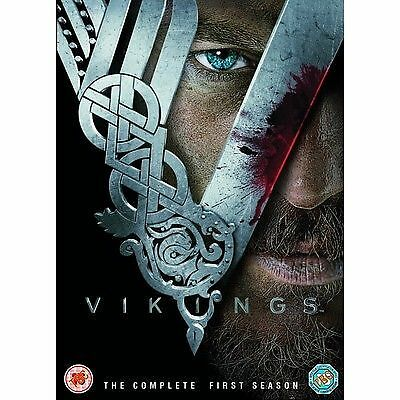 Vikings The Complete First Season Series One (1) R2 Dvd Travis Fimmel 3-Disc Vgc