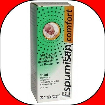 Espumisan Comfort Anti Colic Drops Baby Bloating Stomach Aches 30 ml