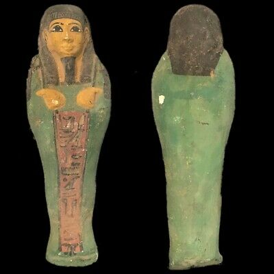 EGYPTIAN HIEROGLYPHIC SHABTI (5) Large Over 18 cm !!!!
