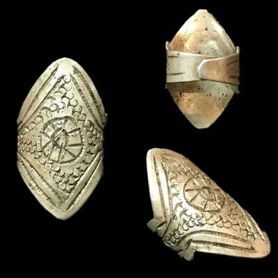 Stunning Top Quality Silver Medieval Ring (1)