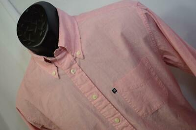 28670 Mens Brooks Brothers 346 Long Sleeve Pink Dress Shirt Size Small