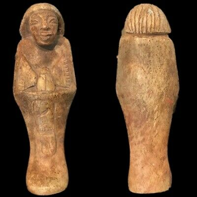 EGYPTIAN HIEROGLYPHIC SHABTI (7) Large Over 14 cm !!!!