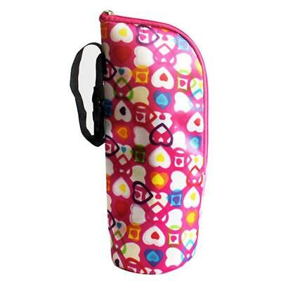 Portable Travel Baby Feeding Milk Bottle Warmer Bag Mummy Insulation Tote Bag W