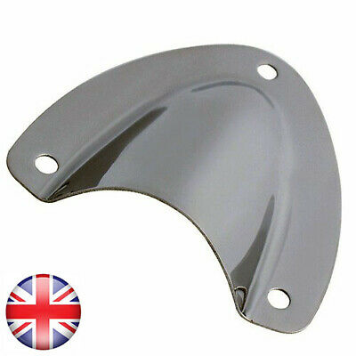 Clam Vents Stainless Steel 316 Mirror Finish No Rusting 2 x 57mm x 55mm Midget