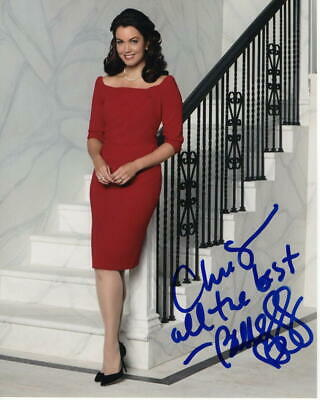 Bellamy Young Signed Autograph 8X10 Photo - Melody Grant, Mellie, Scandal Babe