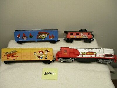 SU-898  HO Mehano Toy Story 2 Loco and (3) Cars