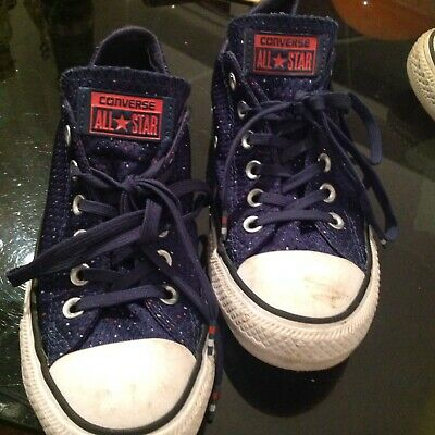 Converse Chuck Taylor All Star Low Top Blue Unisex Womens Girls (Size 5)