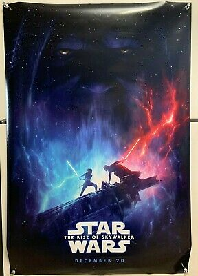 Star Wars - The Rise of Skywalker Original Movie Poster, plus 3 more! 27x40 DS